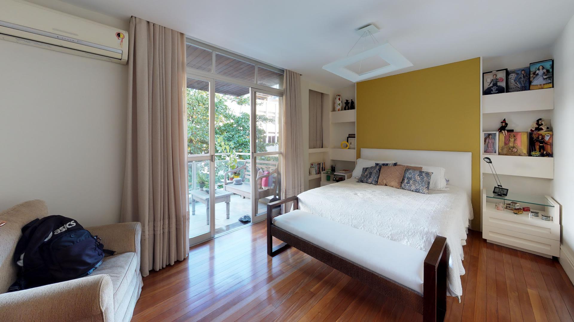 Imagem do Apartamento ID-547 na Rua Barão de Jaguaripe, Ipanema, Rio de Janeiro - RJ