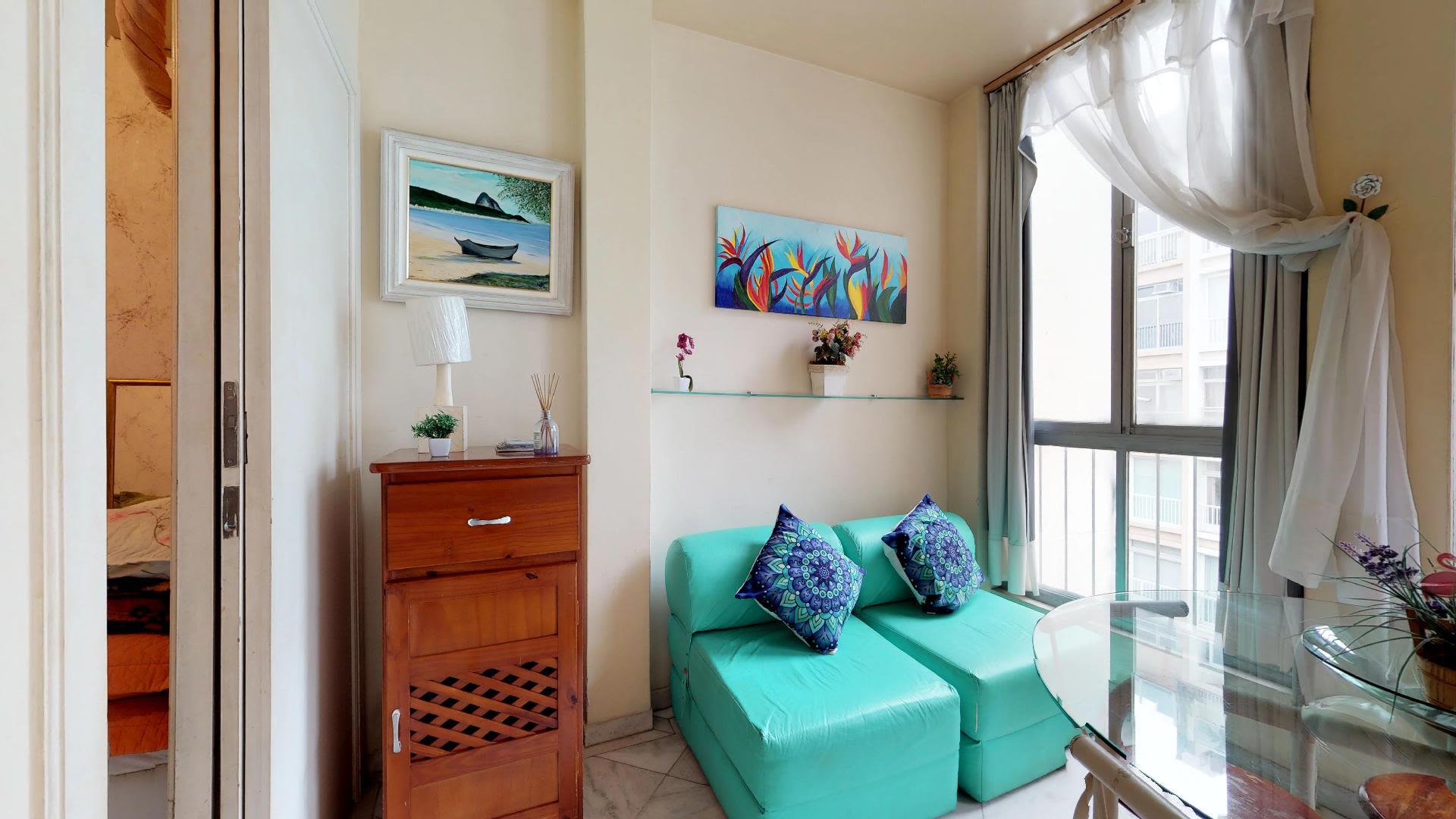 Imagem do Apartamento ID-760 na Rua Joaquim Nabuco, Copacabana, Rio de Janeiro - RJ