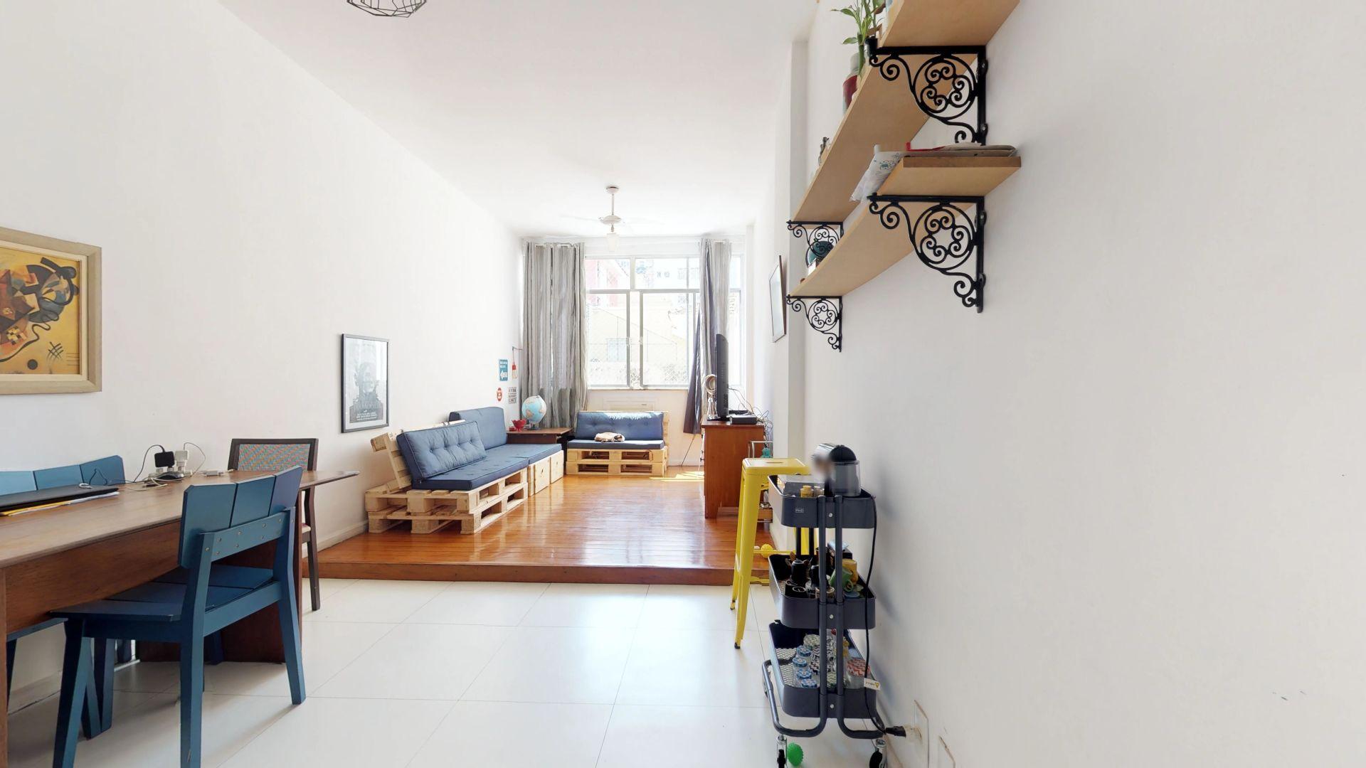 Imagem do Apartamento ID-1930 na Rua Humaitá, Humaitá, Rio de Janeiro - RJ