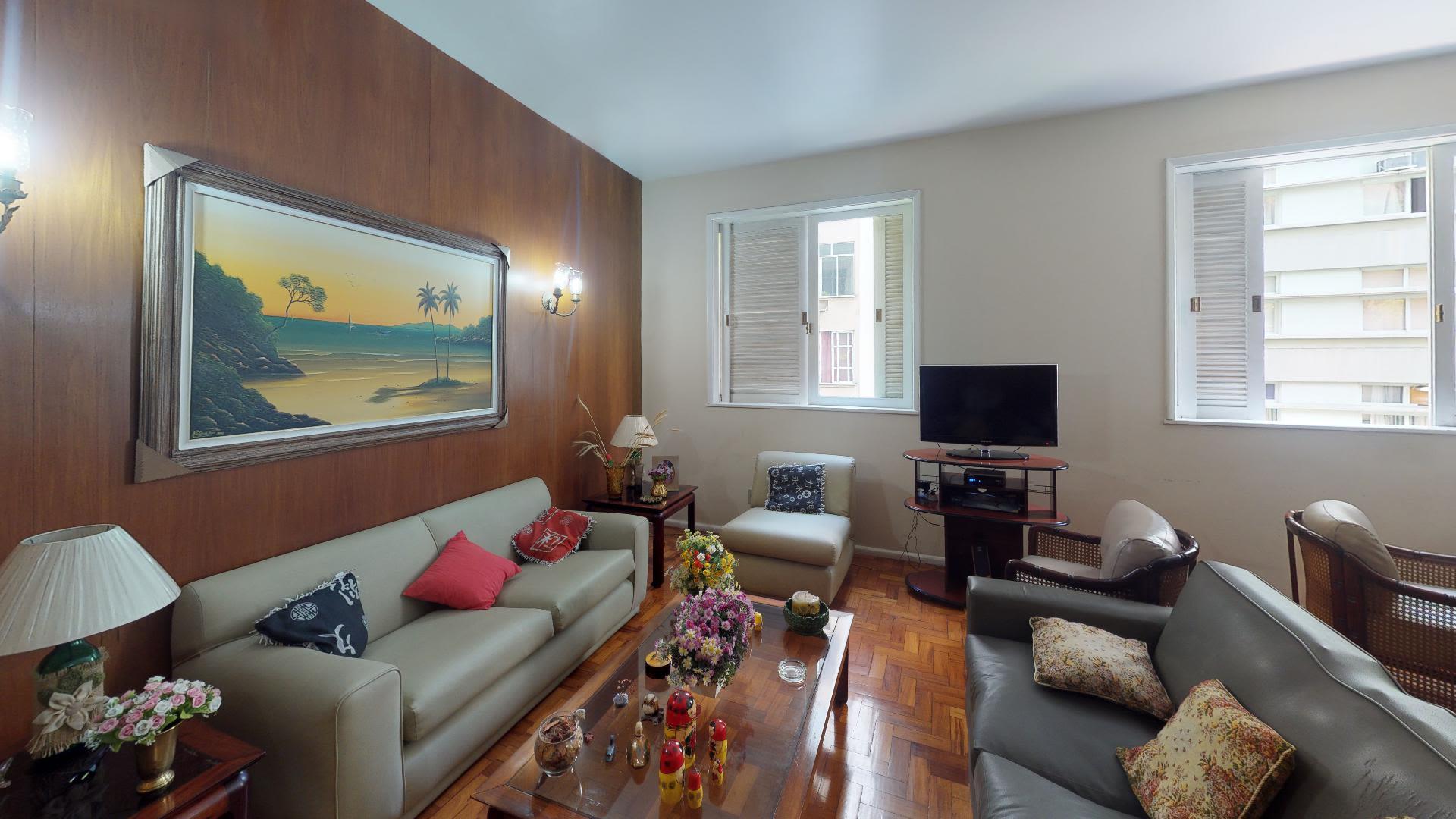 Imagem do Apartamento ID-1750 na Rua Professor Gastão Bahiana, Copacabana, Rio de Janeiro - RJ