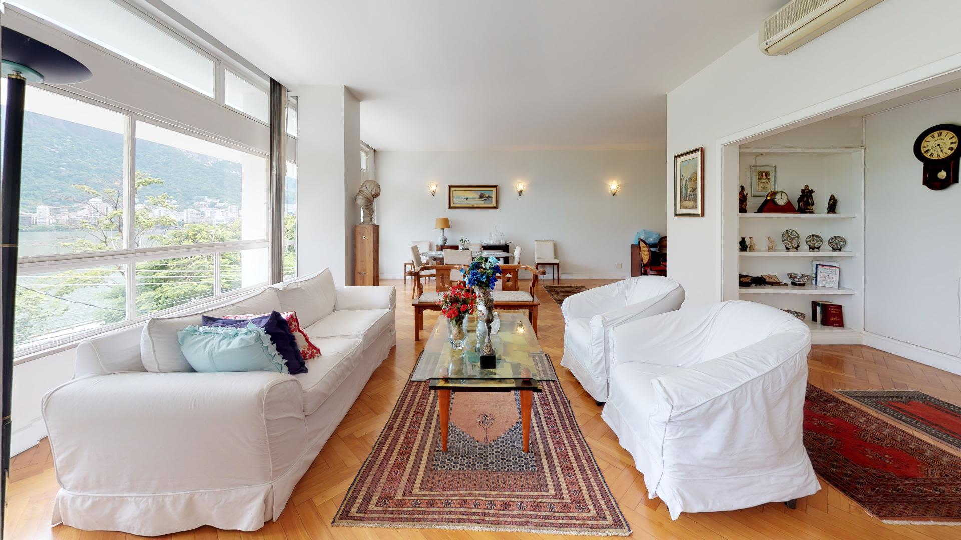 Imagem do Apartamento ID-2149 na Avenida Epitácio Pessoa, Lagoa, Rio de Janeiro - RJ