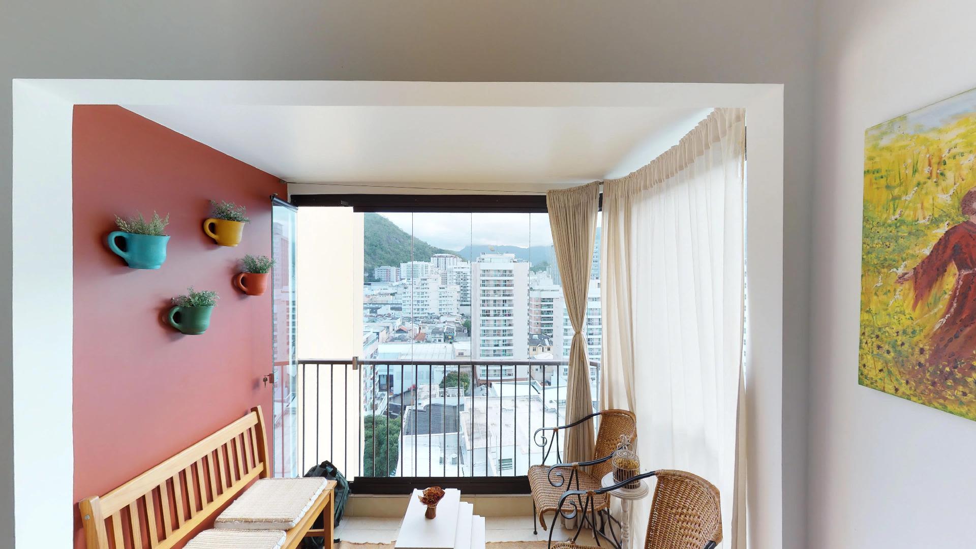 Imagem do Apartamento ID-411 na Rua Dona Mariana, Botafogo, Rio de Janeiro - RJ