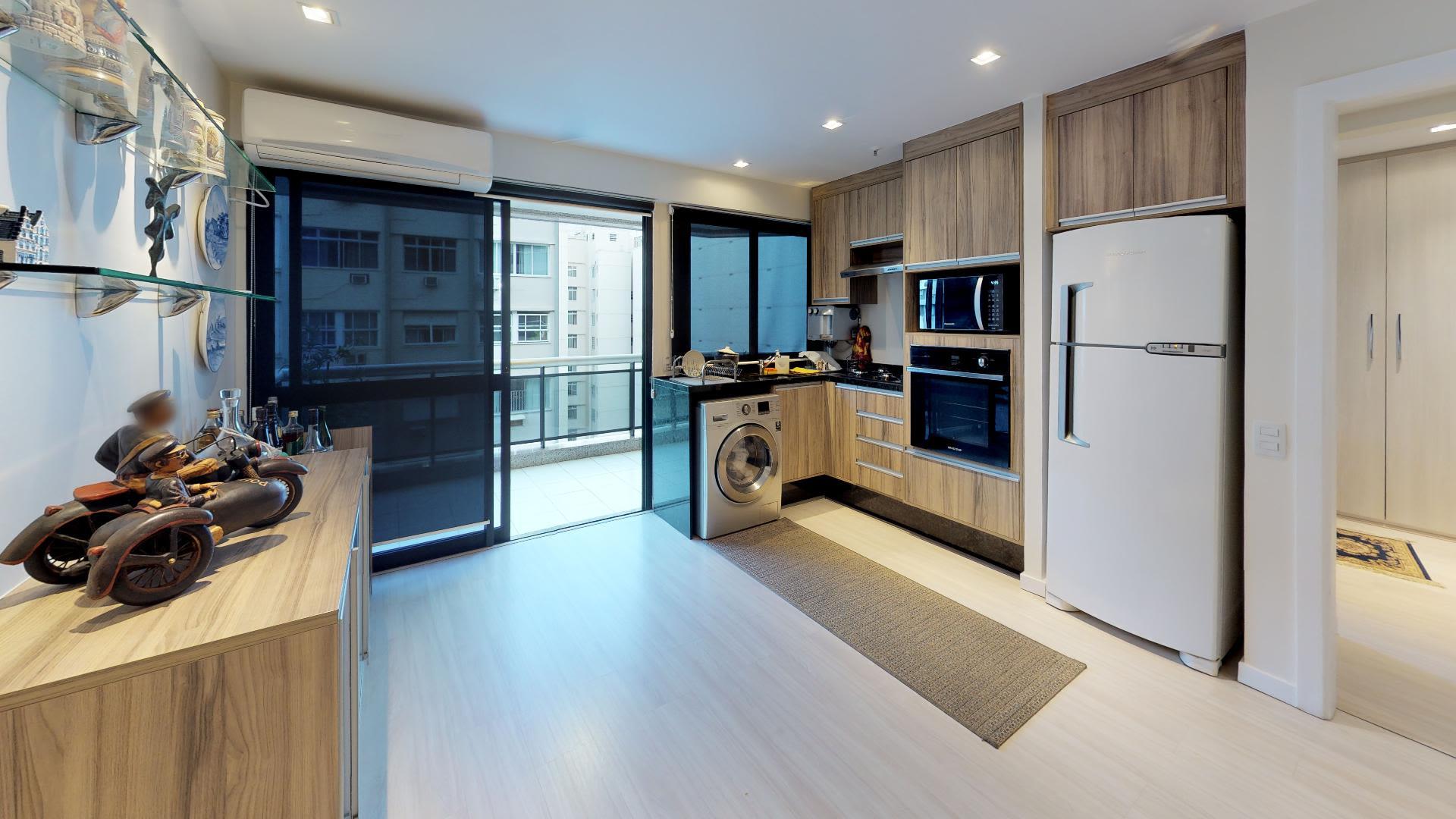 Imagem do Apartamento ID-3665 na Rua Xavier da Silveira, Copacabana, Rio de Janeiro - RJ