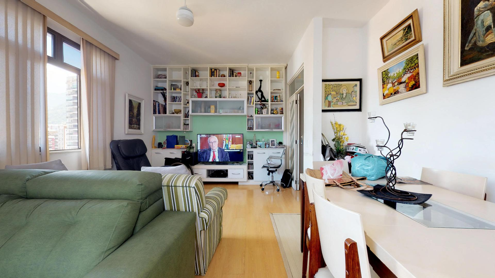 Imagem do Apartamento ID-1391 na Rua Humaitá, Lagoa, Rio de Janeiro - RJ