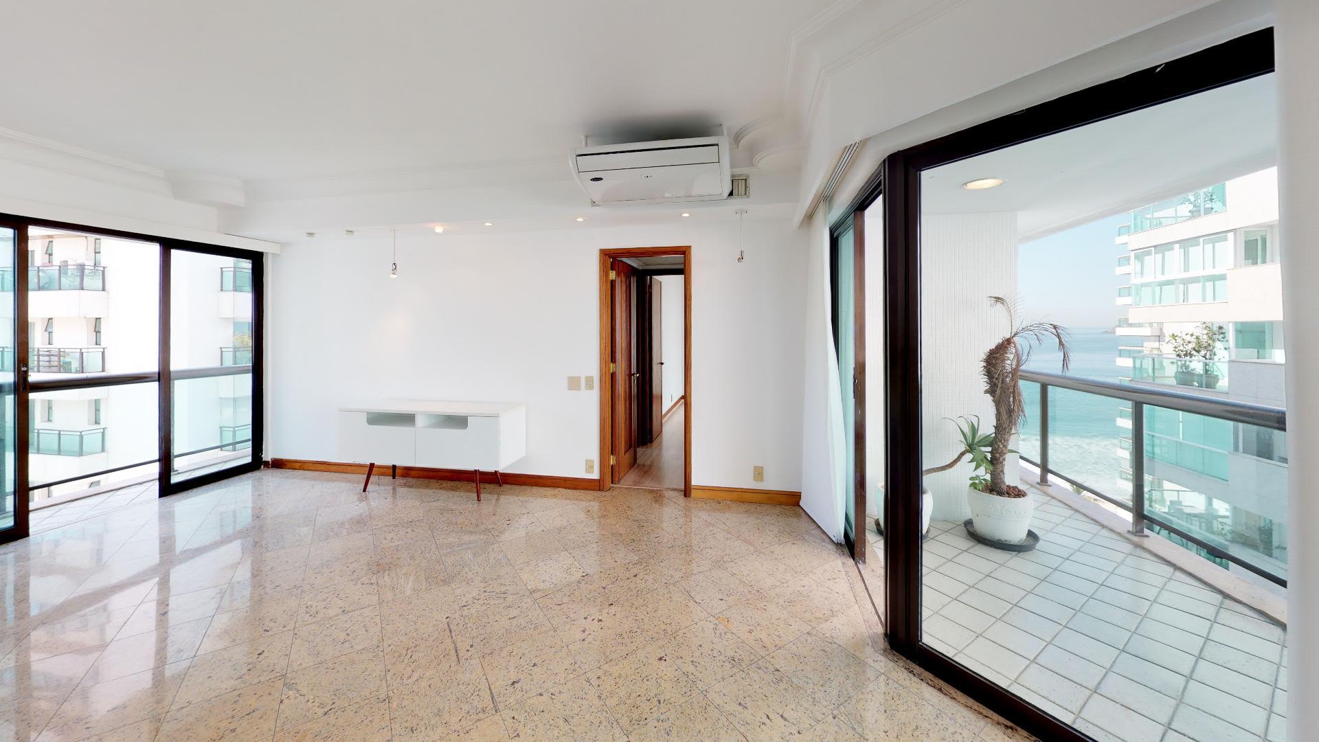 Imagem do Apartamento ID-1340 na Avenida Prefeito Mendes de Morais, São Conrado, Rio de Janeiro - RJ