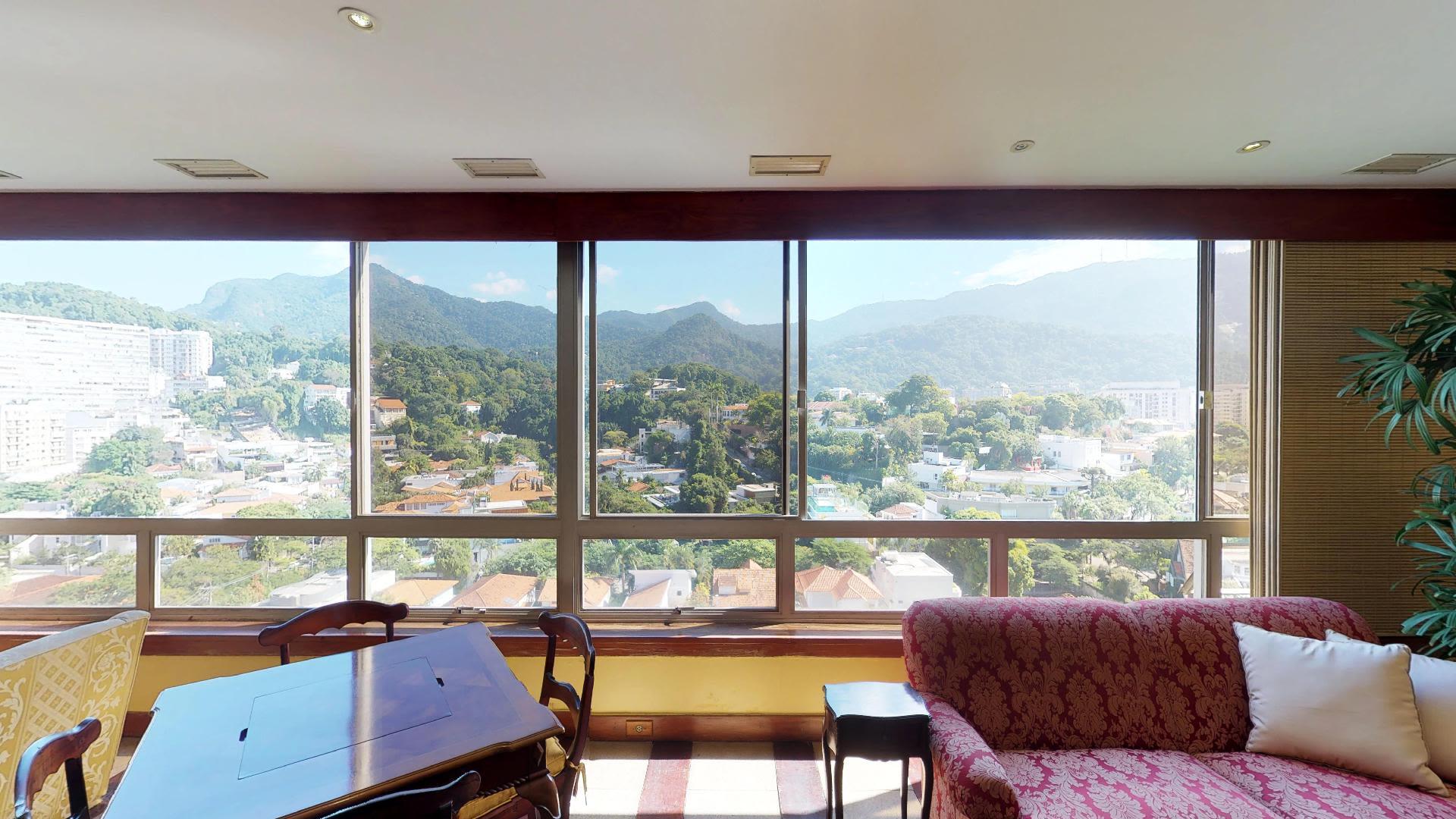 Imagem do Apartamento ID-297 na Avenida Visconde de Albuquerque, Leblon, Rio de Janeiro - RJ
