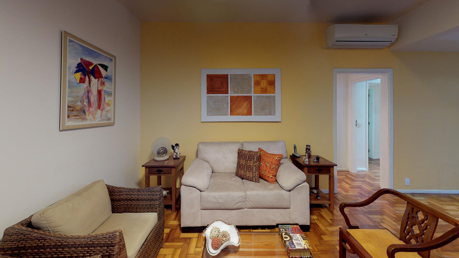 Imagem do Apartamento ID-1718 na Rua General Glicério, Laranjeiras, Rio de Janeiro - RJ