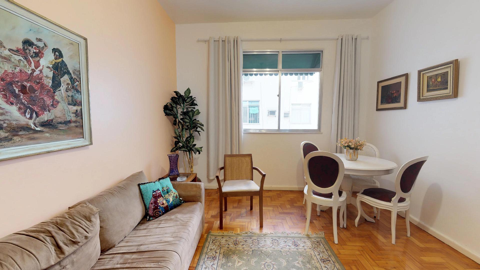 Imagem do Apartamento ID-494 na Rua Bolívar, Copacabana, Rio de Janeiro - RJ