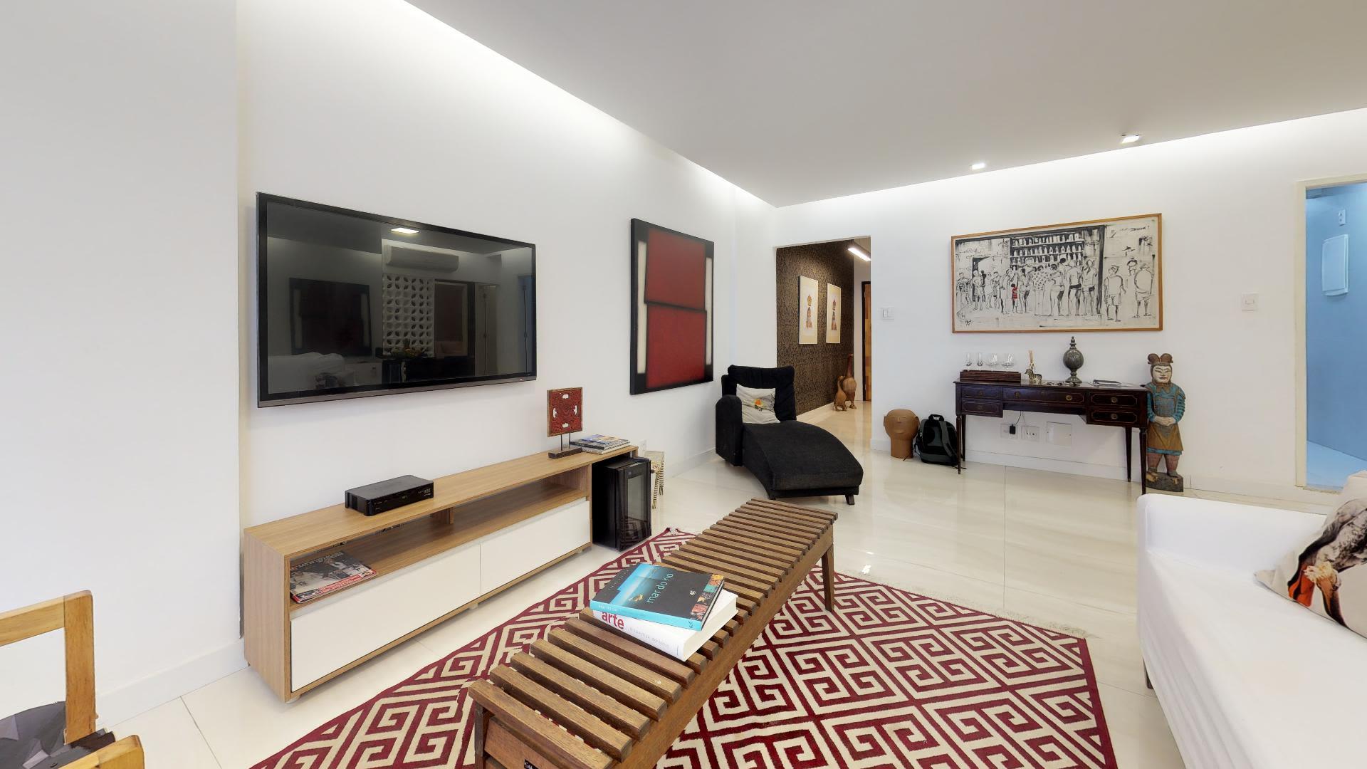 Imagem do Apartamento ID-647 na Avenida Rainha Elisabeth, Ipanema, Rio de Janeiro - RJ