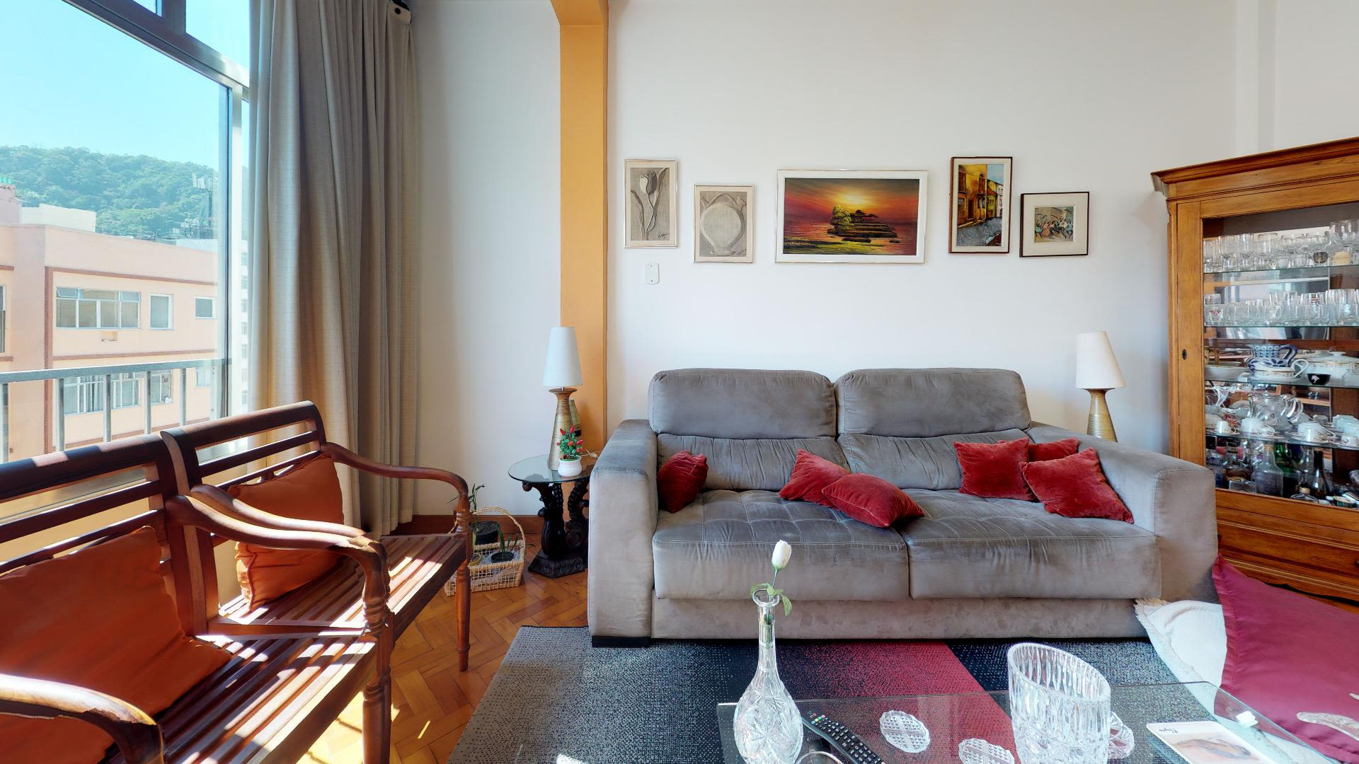 Imagem do Apartamento ID-591 na Rua Barata Ribeiro, Copacabana, Rio de Janeiro - RJ