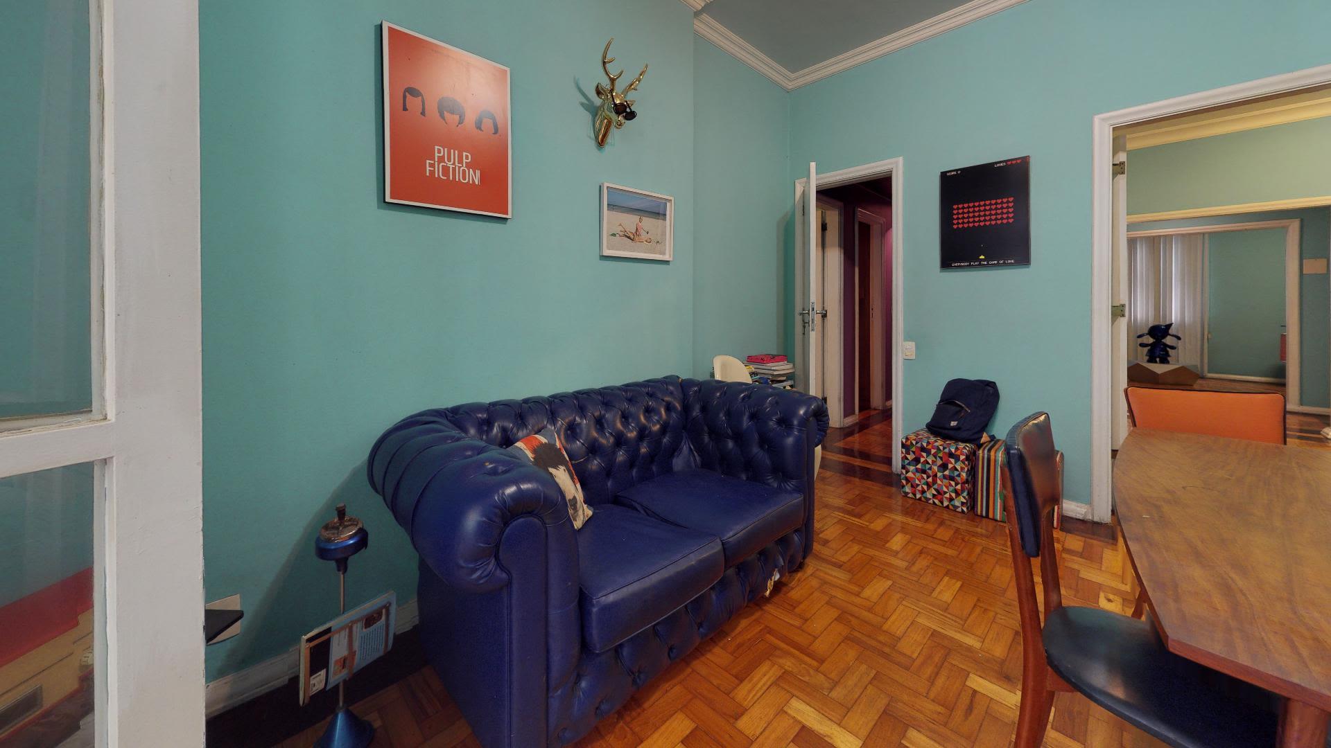 Imagem do Apartamento ID-1140 na Rua Belfort Roxo, Copacabana, Rio de Janeiro - RJ