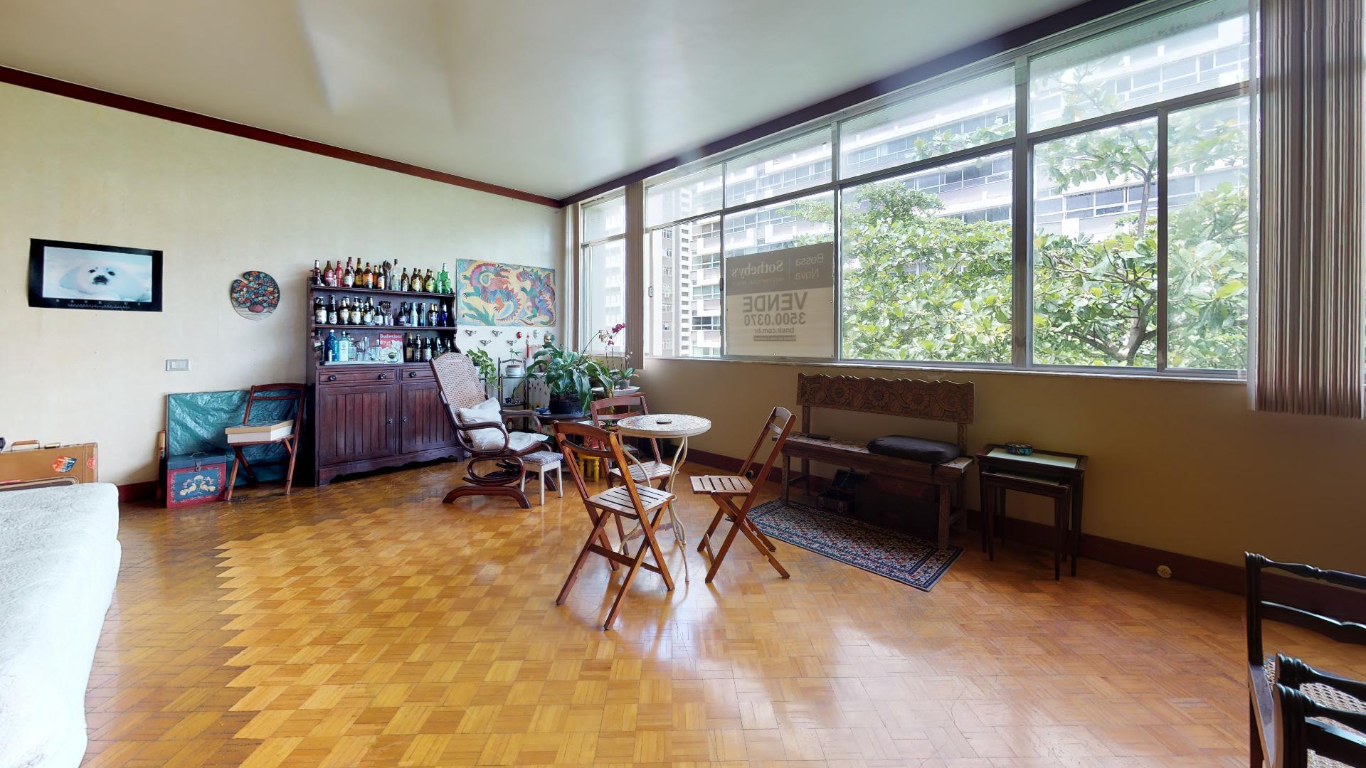 Imagem do Apartamento ID-1484 na Avenida Bartolomeu Mitre, Leblon, Rio de Janeiro - RJ