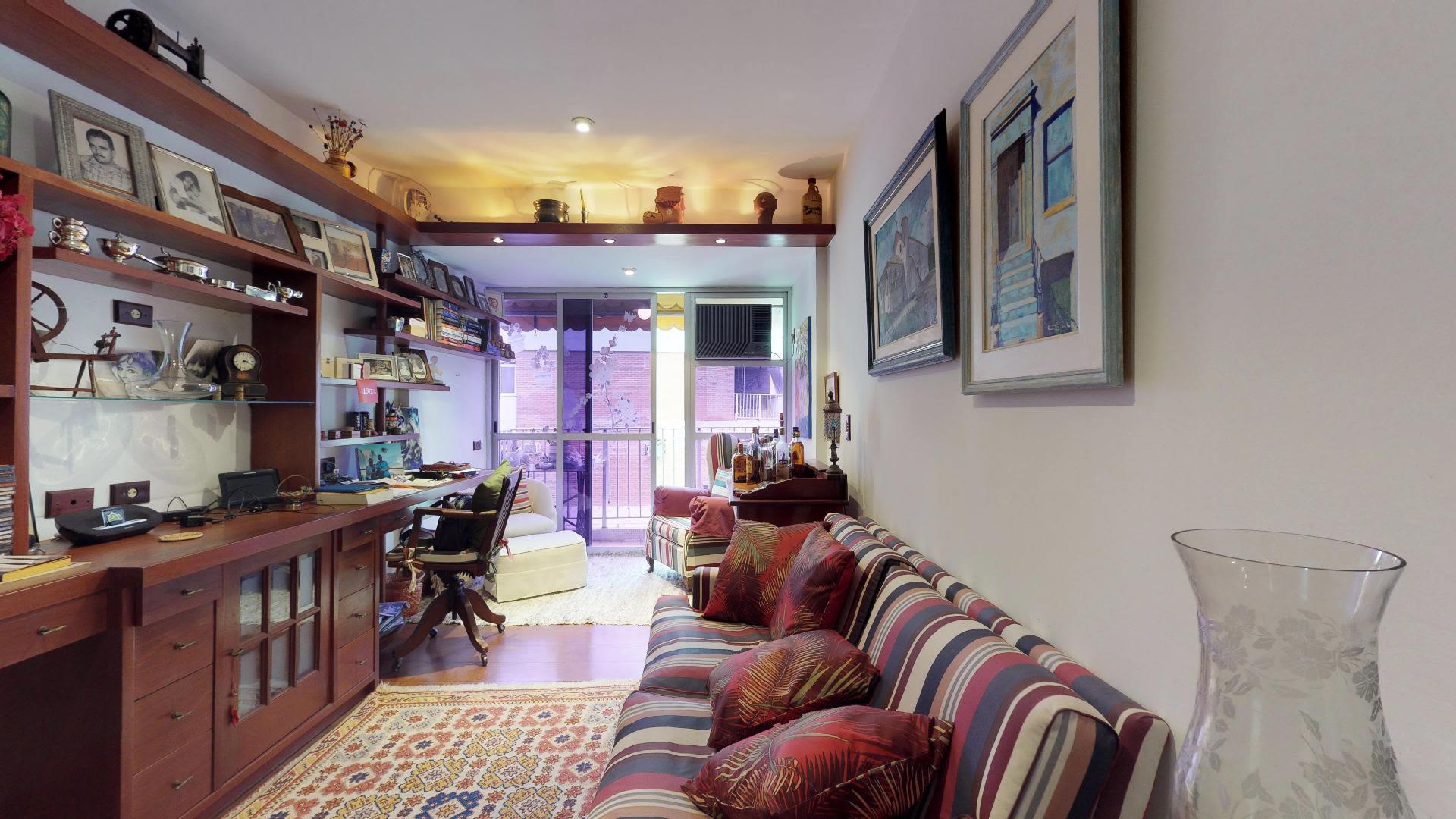 Imagem do Apartamento ID-633 na Rua Lopes Quintas, Jardim Botânico, Rio de Janeiro - RJ