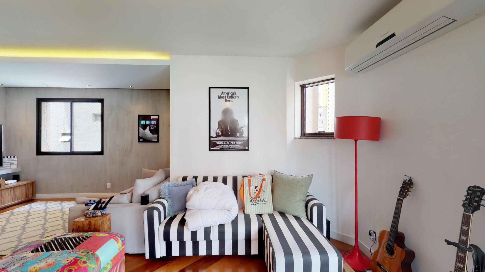 Imagem do Apartamento ID-1727 na Rua Monte Alegre, Perdizes, São Paulo - SP