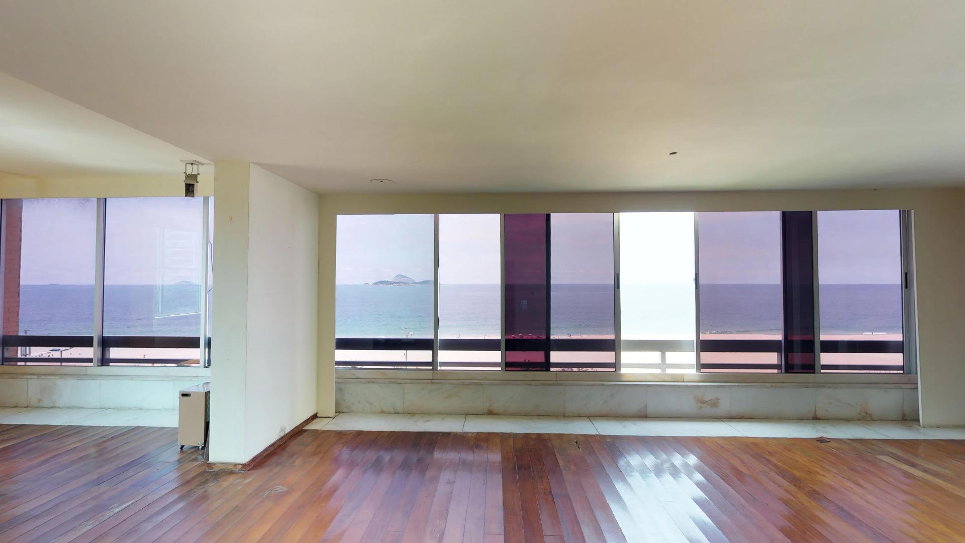 Imagem do Apartamento ID-95 na Avenida Vieira Souto, Ipanema, Rio de Janeiro - RJ