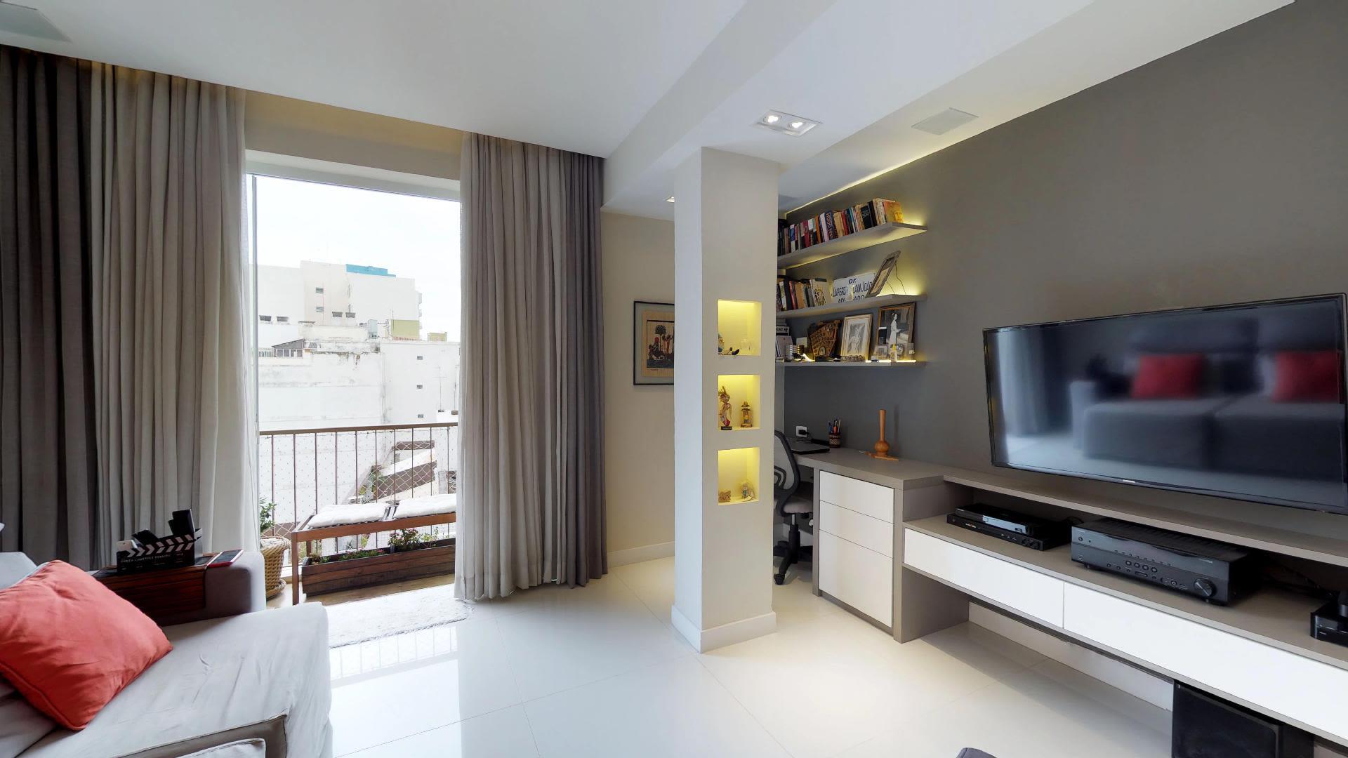 Imagem do Apartamento ID-395 na Rua Humaitá, Humaitá, Rio de Janeiro - RJ