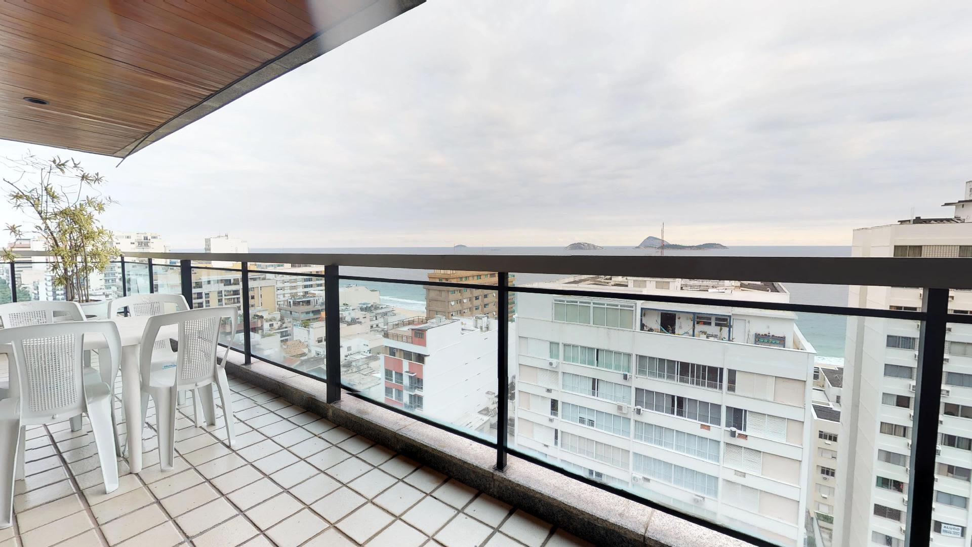 Imagem do Apartamento ID-800 na Rua Prudente de Morais, Ipanema, Rio de Janeiro - RJ