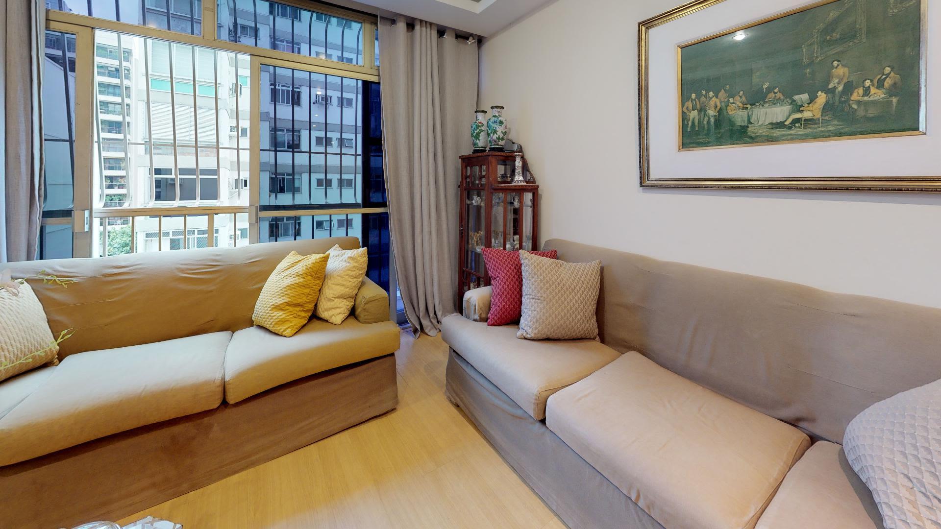 Imagem do Apartamento ID-2086 na Rua Jardim Botânico, Jardim Botânico, Rio de Janeiro - RJ
