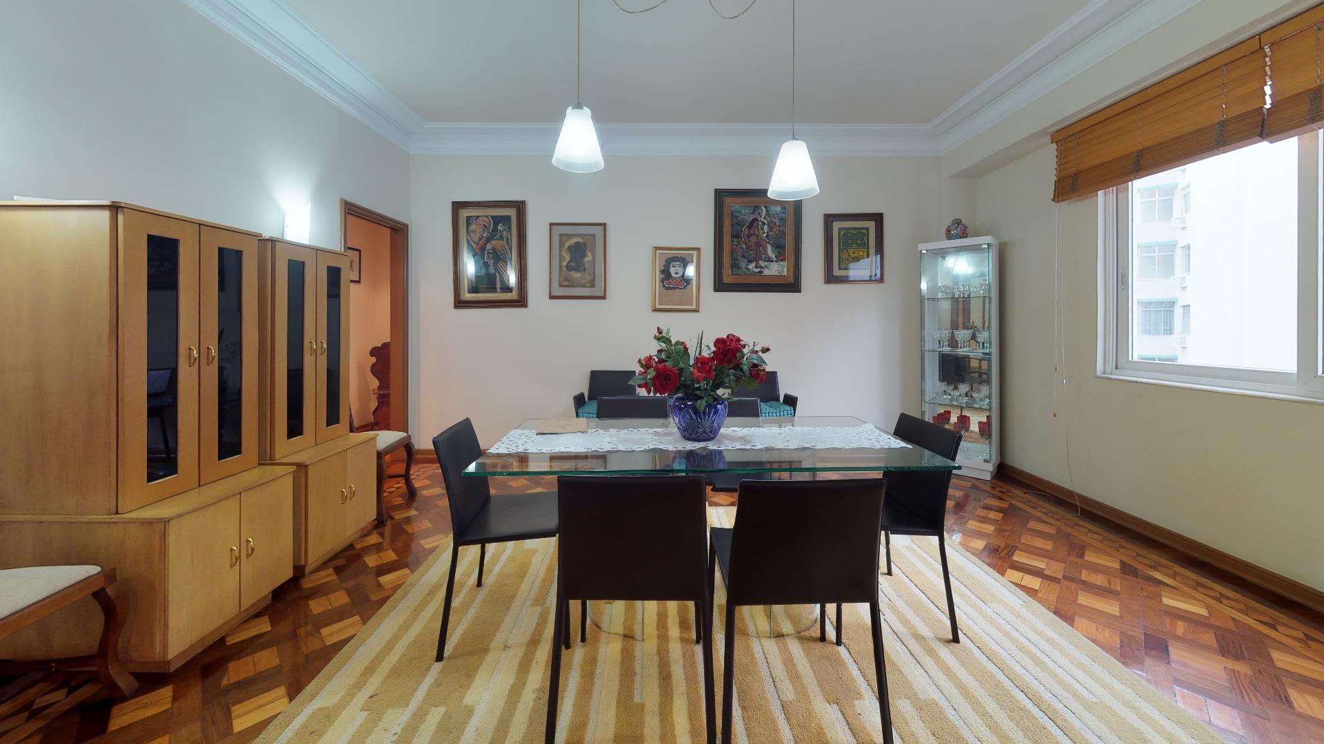 Imagem do Apartamento ID-516 na Rua Inhangá, Copacabana, Rio de Janeiro - RJ