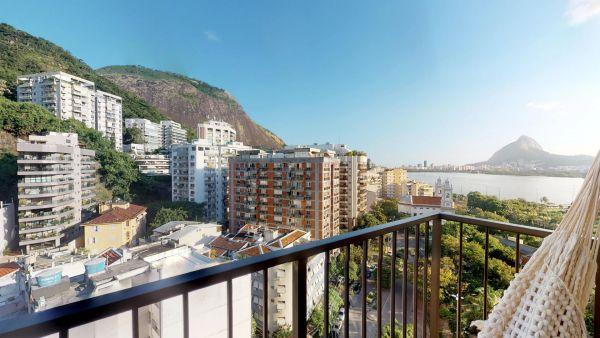 Imagem do imóvel ID-2719 na Rua Fonte da Saudade, Lagoa, Rio de Janeiro - RJ