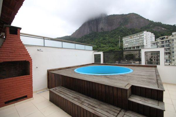 Imagem do imóvel ID-55 na Rua Pio Corrêa, Jardim Botânico, Rio de Janeiro - RJ