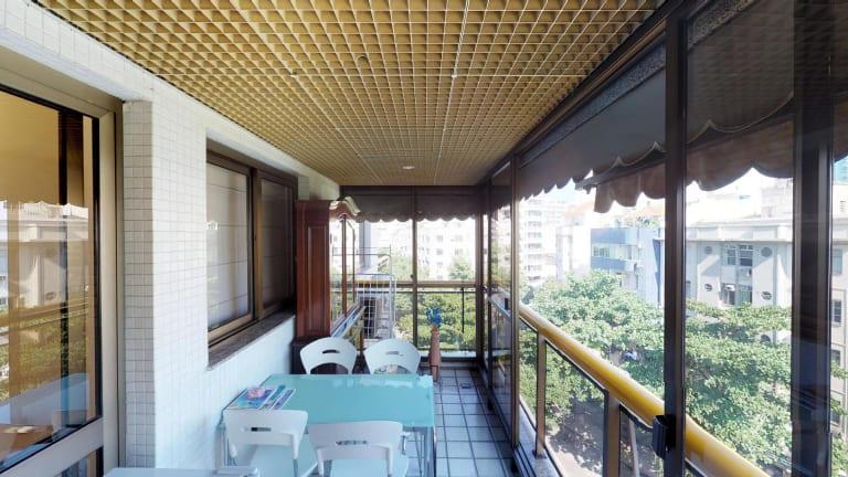 Imagem do imóvel ID-429 na Avenida Bartolomeu Mitre, Leblon, Rio de Janeiro - RJ