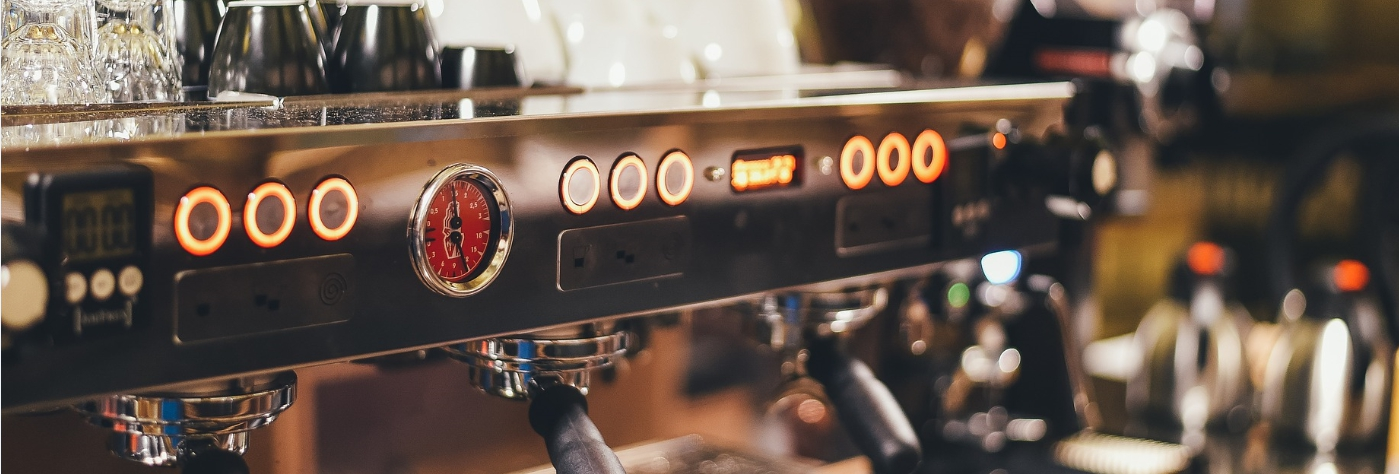 Working with startups and teaching coffee machines to make online payments