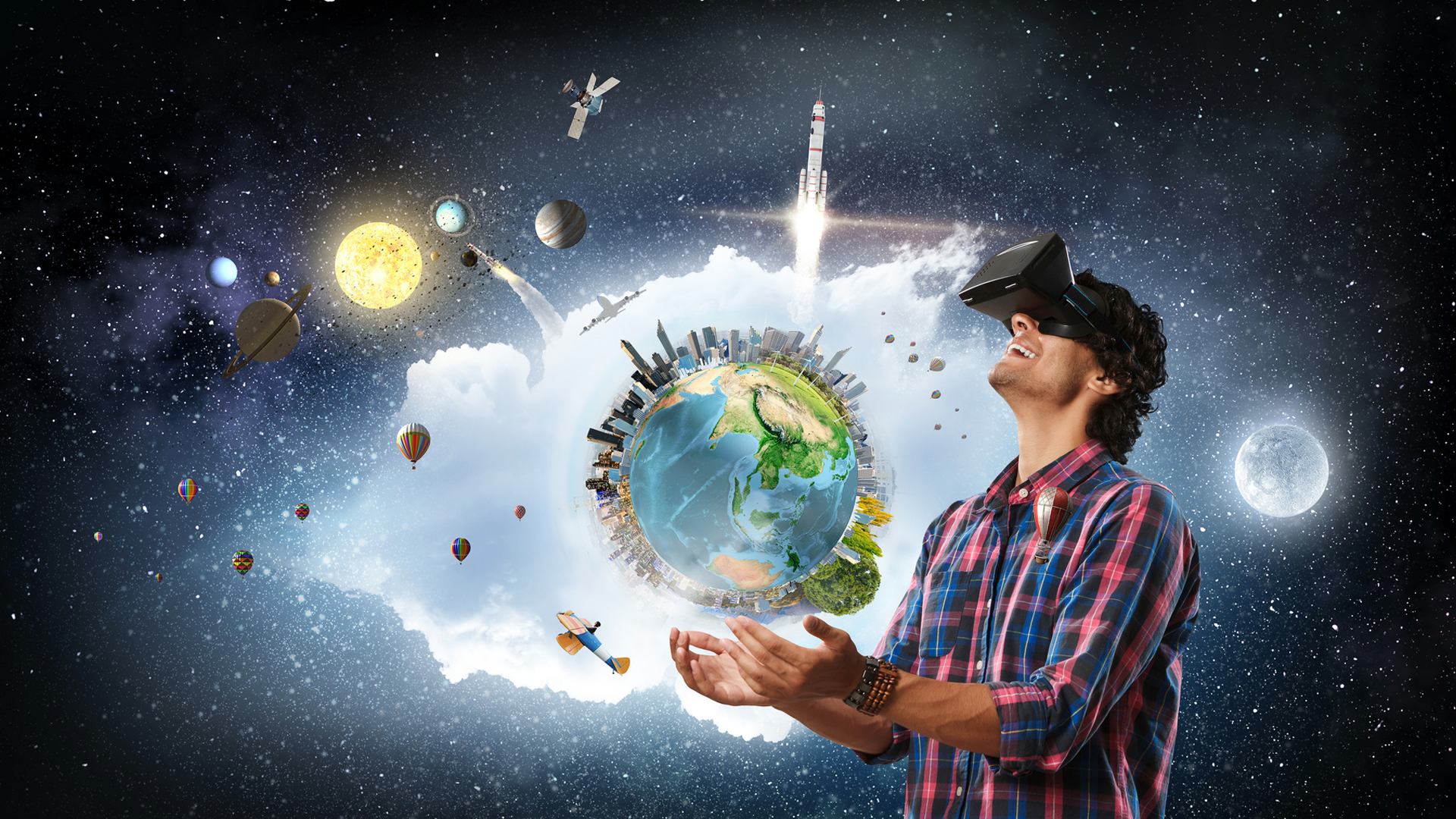 Unconventional Examples of AR/VR in Education: Reaching from the Ground to Space