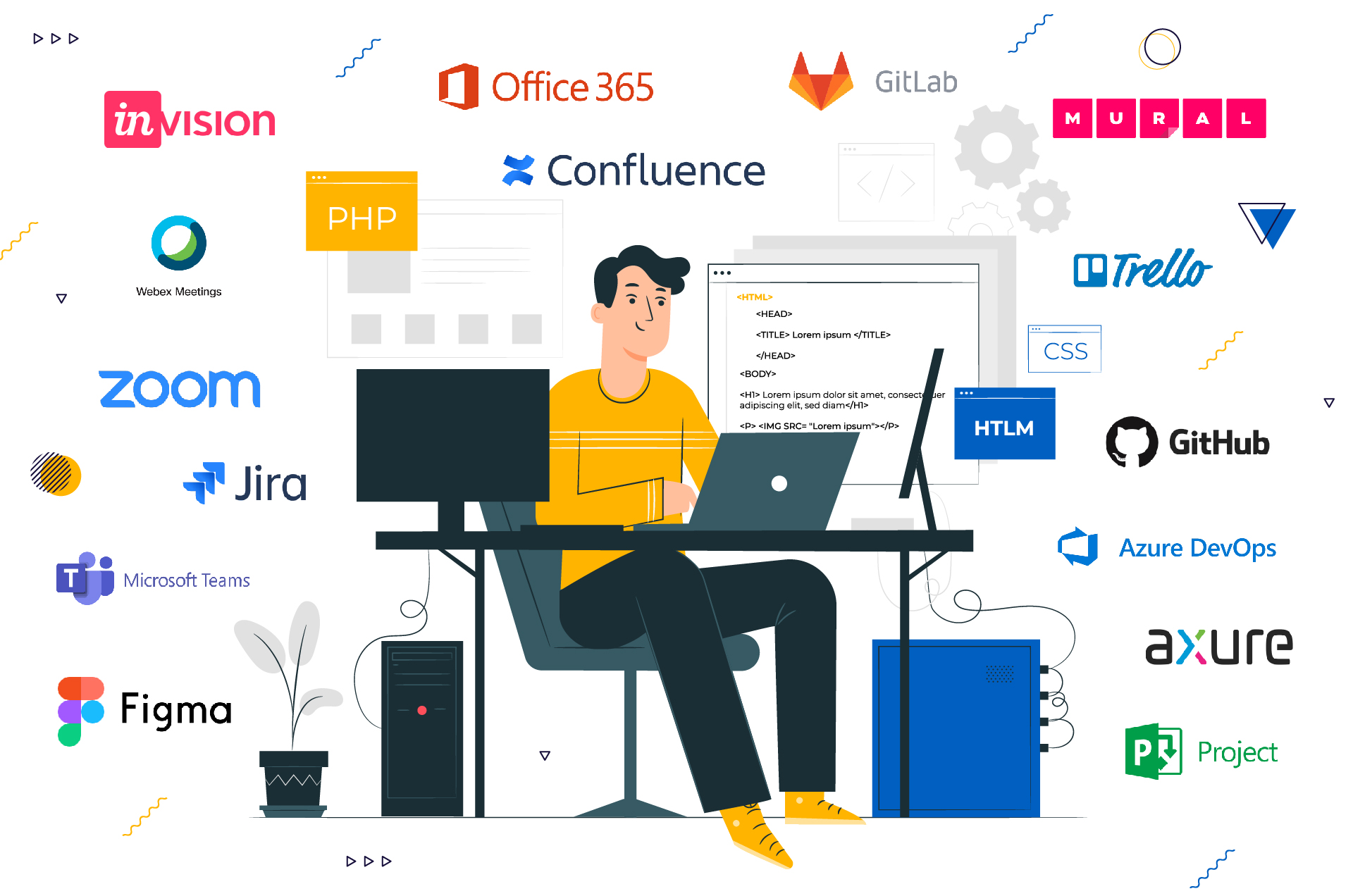 tools we use for remote team management