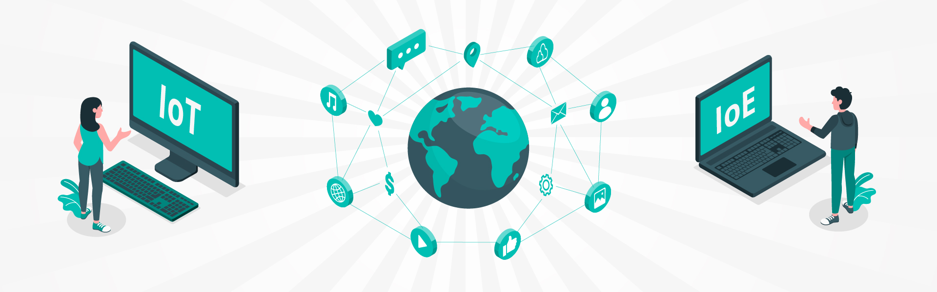 The Internet of Everything and the Internet of Things: What's What?