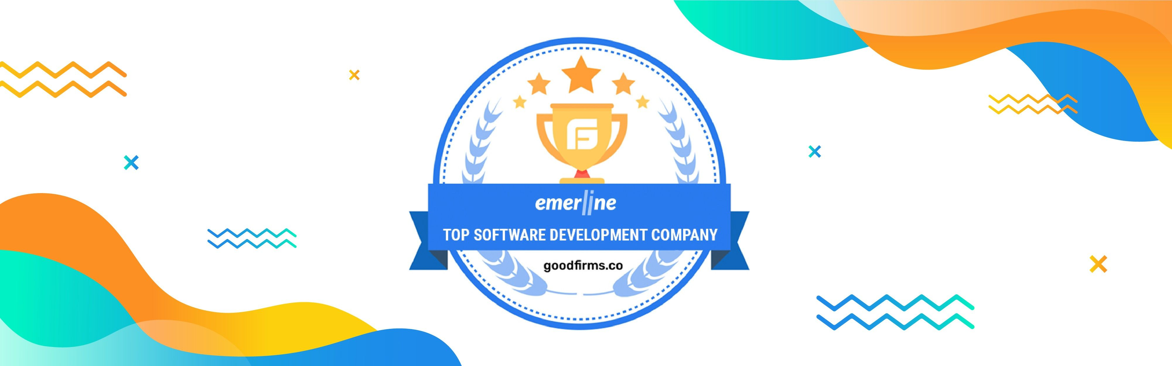 Emerline Is Ranked As a Top Software Development Company By GoodFirms