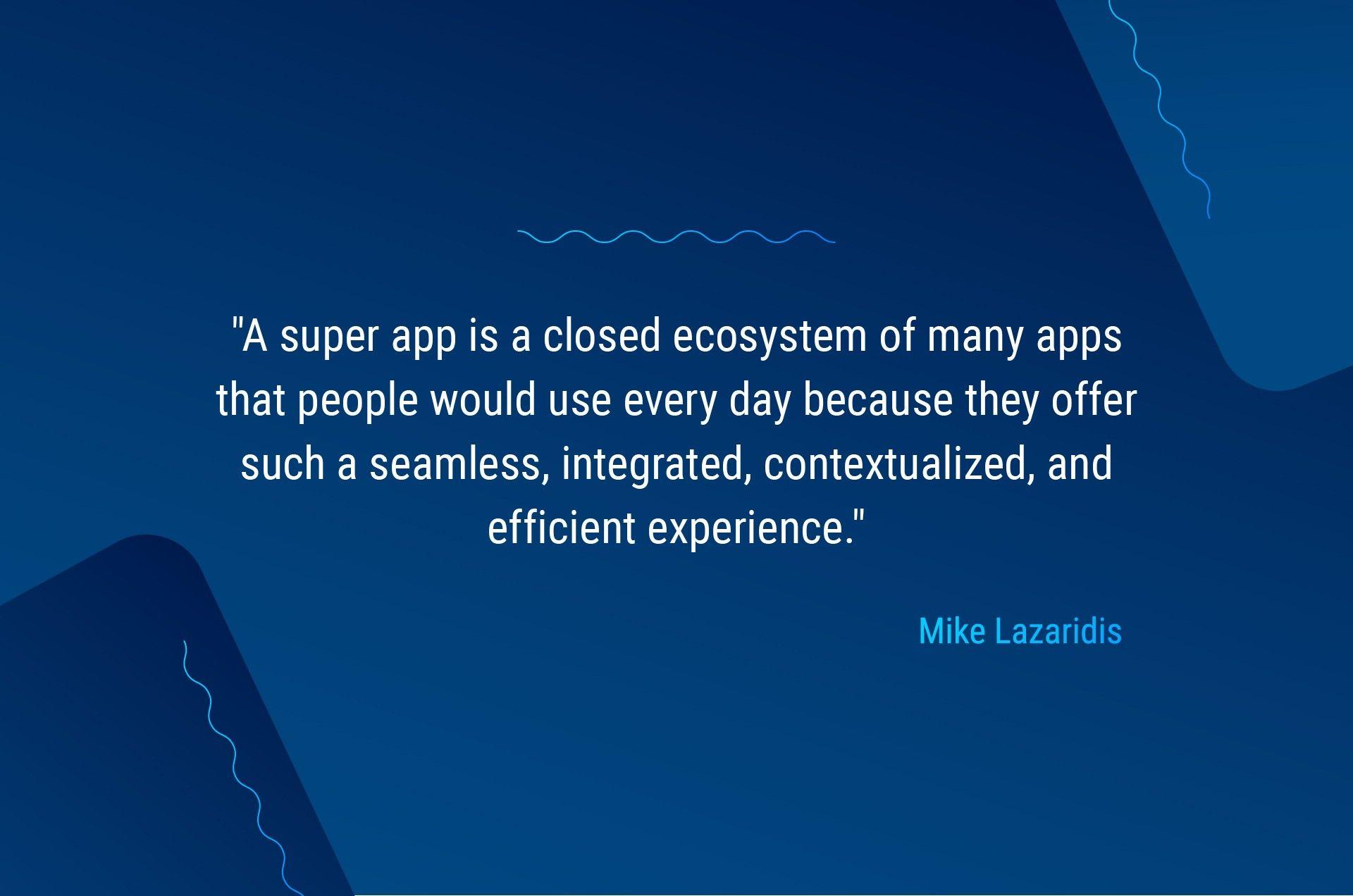super app definition