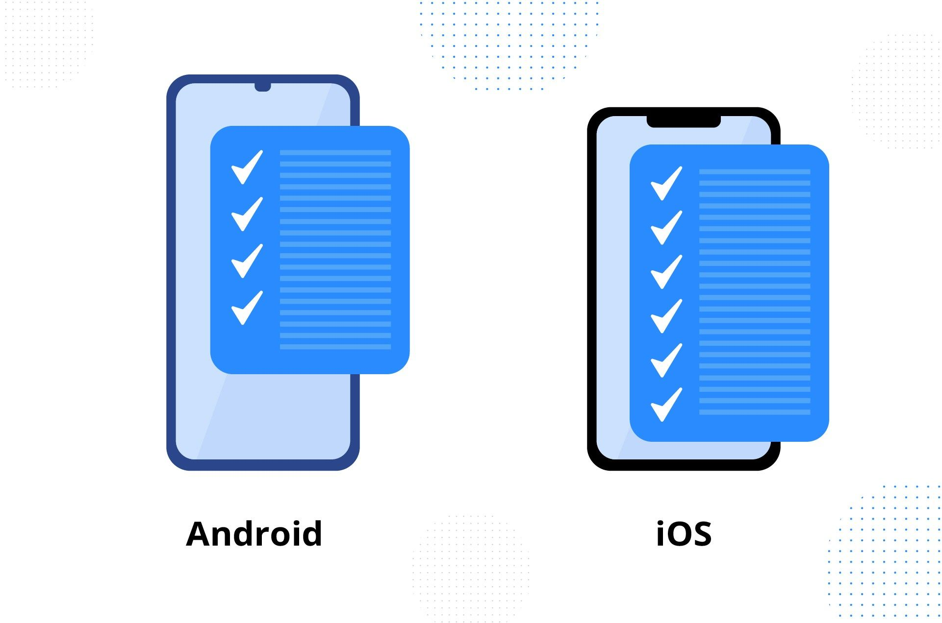 iOS vs Android release issues