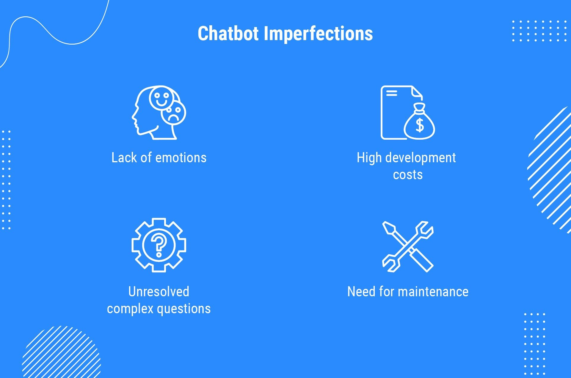 chatbot imperfections