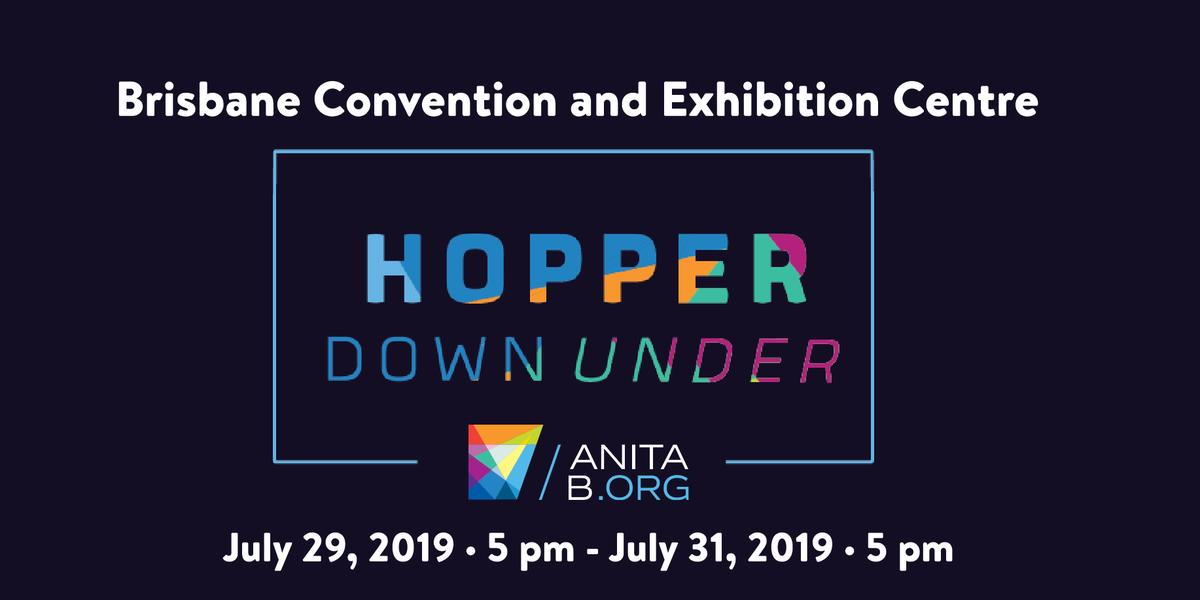 Hopper is Coming Down Under