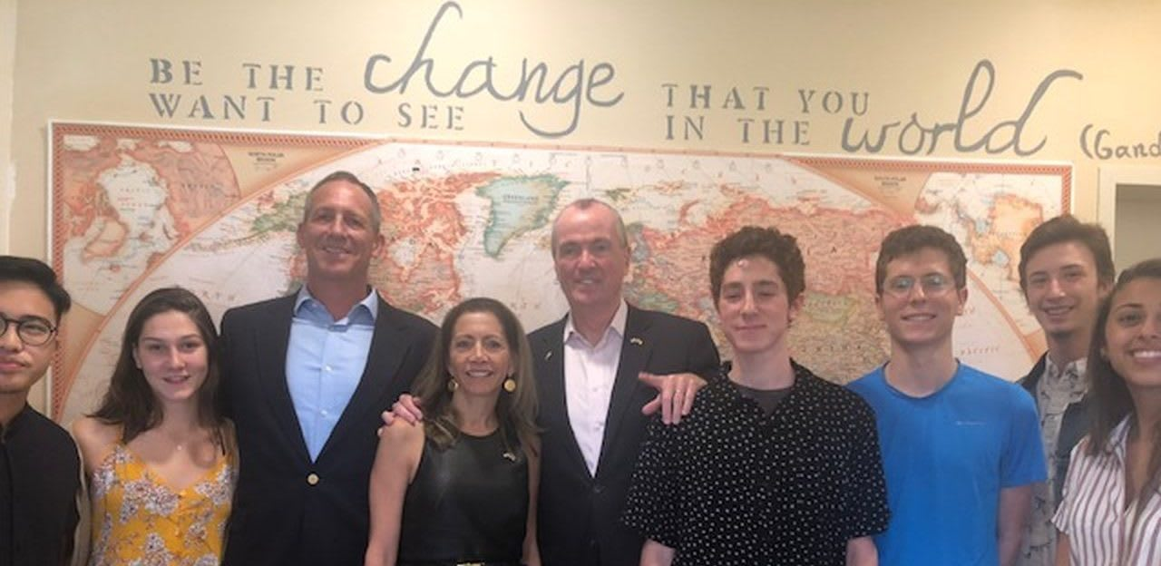 New Jersey Governor Murphy Visited EMIS