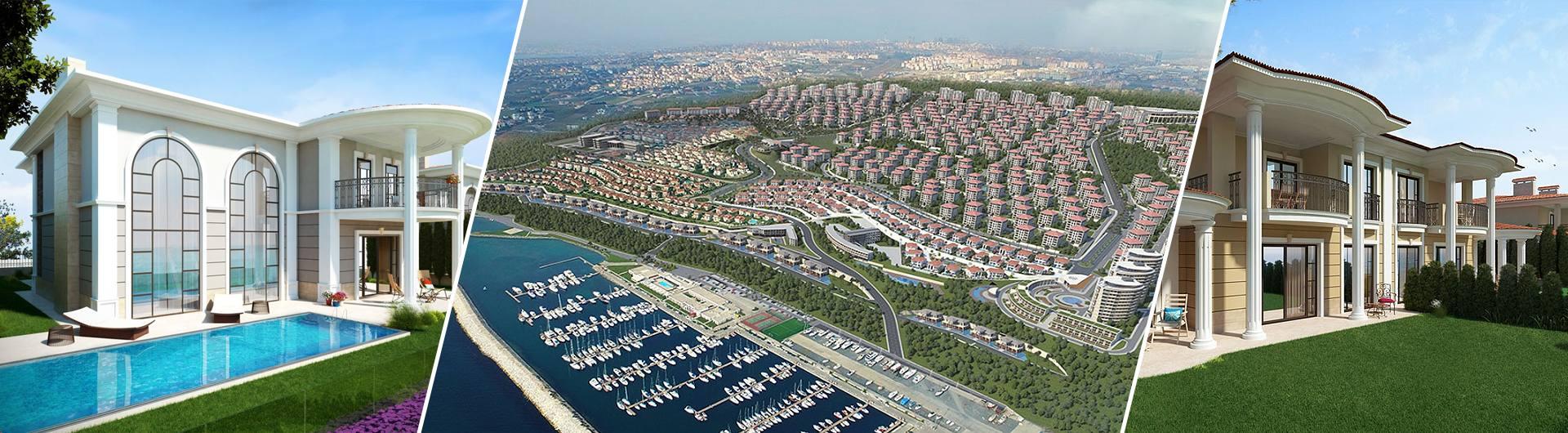 Keleşoğlu İnşaat Deniz İstanbul Marina Evleri Konut Projesi arkaplan