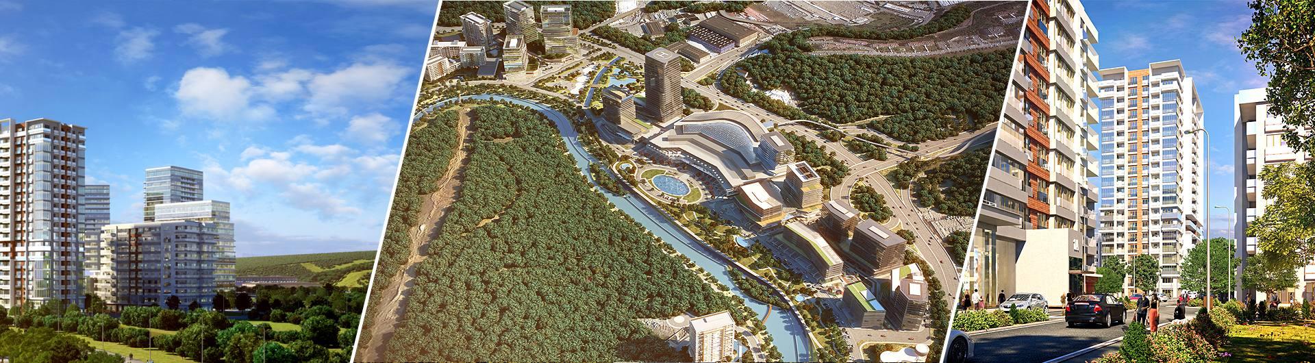 Artaş İnşaat Vadistanbul Park Konut Projesi arkaplan