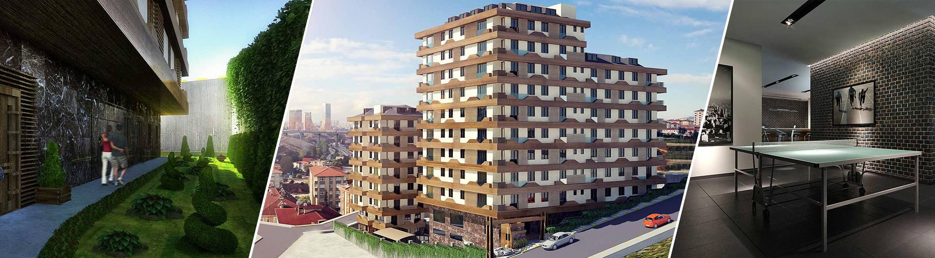 Acat Yapı Finans Evleri Konut Projesi arkaplan