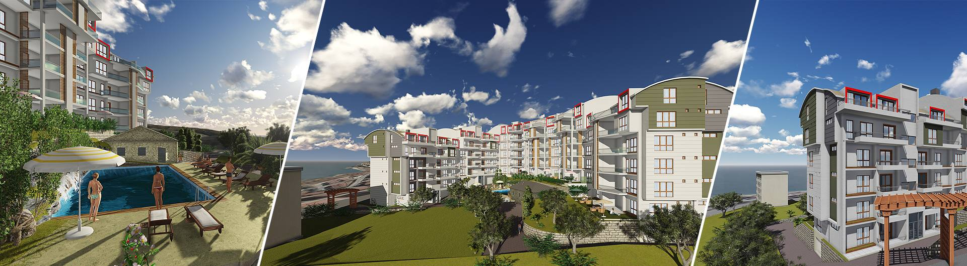 Buryap İnşaat Olivium Residence 2 Konut Projesi arkaplan