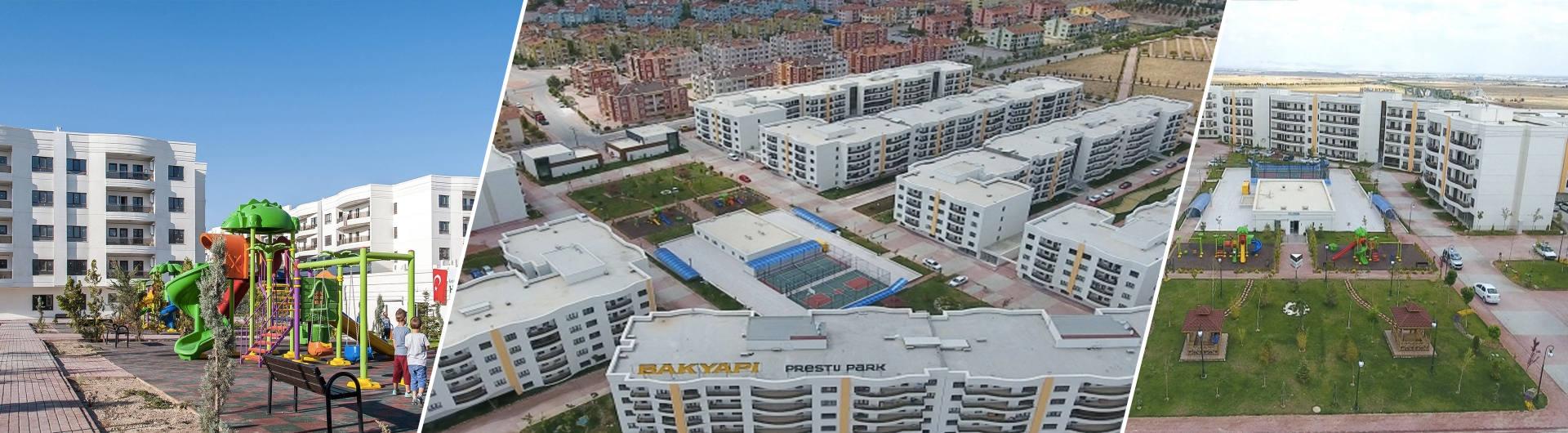 Bak Yapı Konya Prestij Park Konut Projesi arkaplan