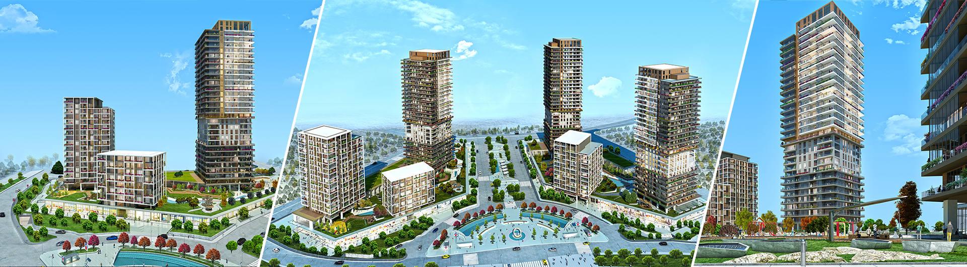 İntaya İnşaat Adım İstanbul Ofis Projesi arkaplan