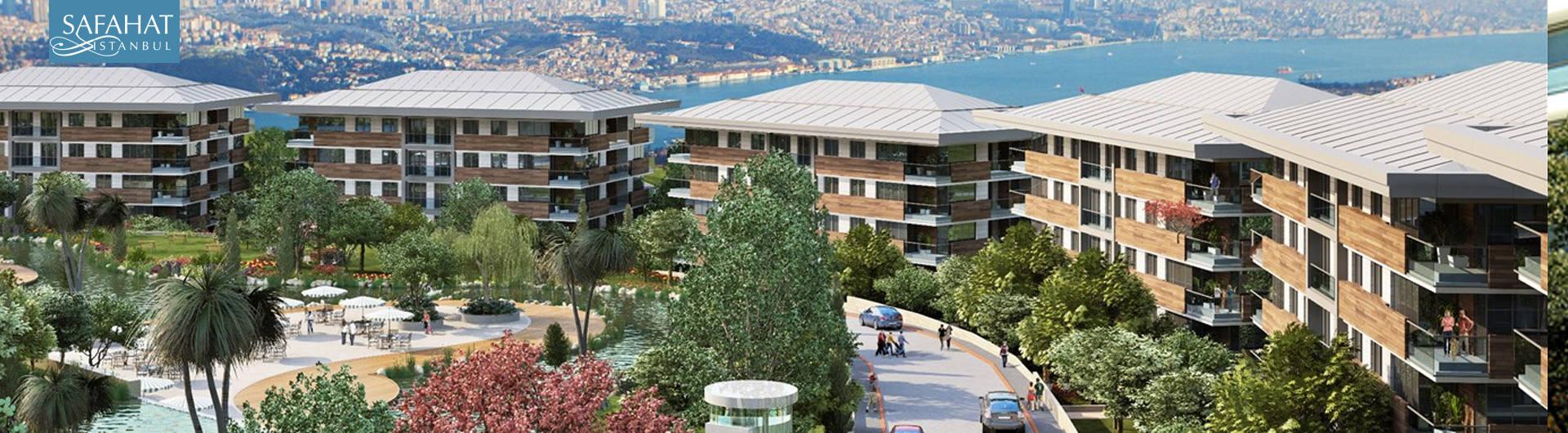 Pana Yapı Safahat İstanbul Konut Projesi arkaplan