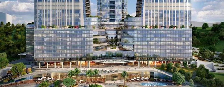 Eroğlu Gayrimenkul Skyland İstanbul Ofis Projesi arkaplan