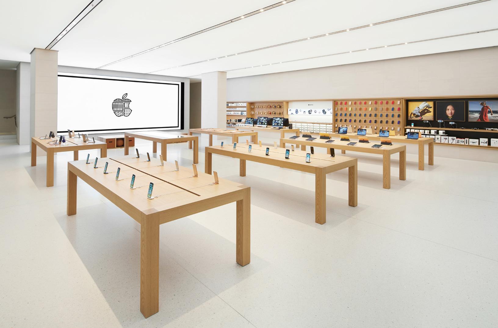 Minimalisme pada ritel - Apple Store