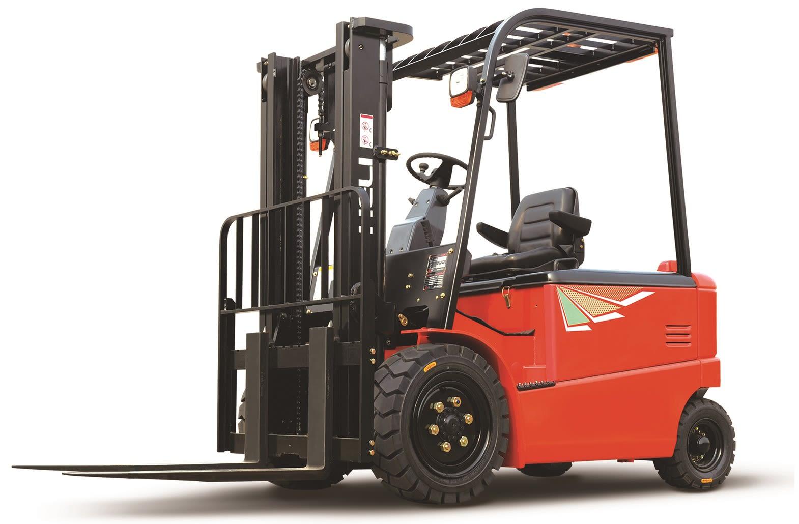Empilhador Elétrico de 4 rodas - de 3.000 Kg a 3.500 Kg