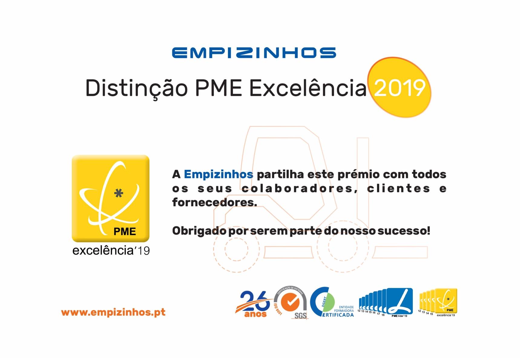 Distinção PME Excelência