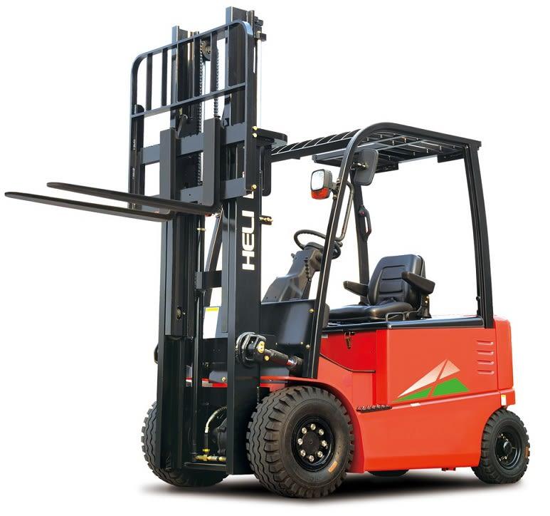 Empilhador Elétrico de 4 rodas - de 1.000 Kg a 2500 Kg