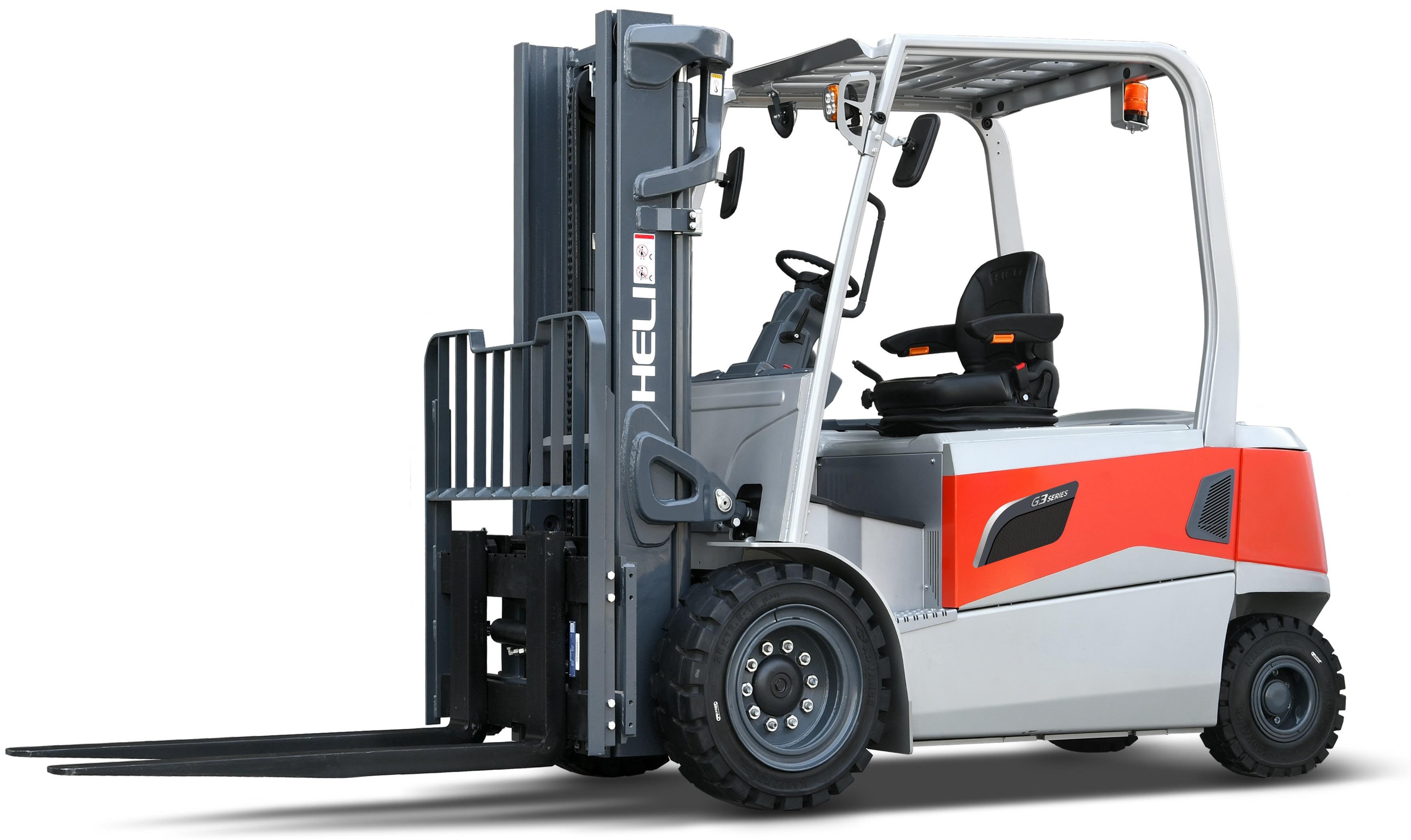 Empilhador Elétrico de 4 rodas - de 4.000 Kg a 5.000 Kg