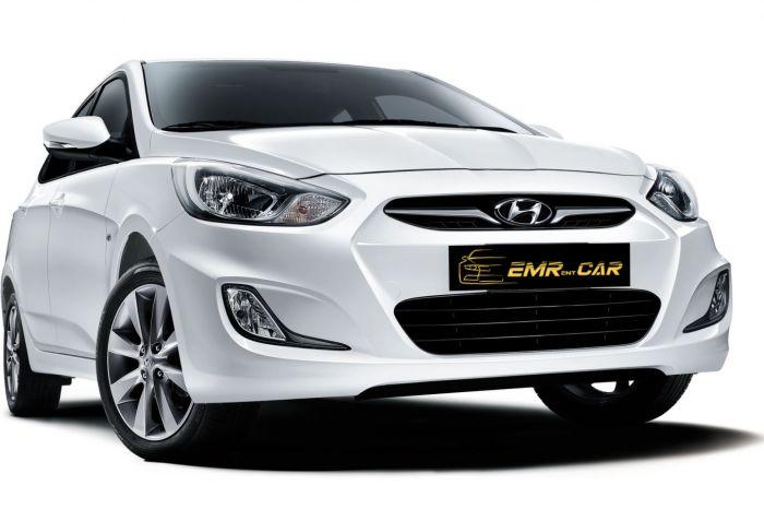 Hyundai Accent Blue 2018